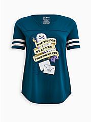 Harry Potter Hedwig Letter Football Top, GULF COAST, hi-res