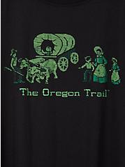 Slim Fit Crew Tee - Oregon Trail Black, DEEP BLACK, alternate