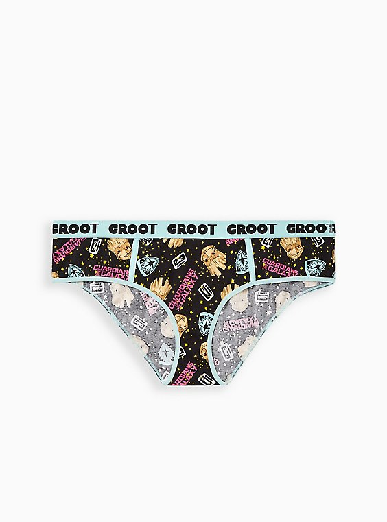 Hipster Panty - Guardians Of The Galaxy Groot Cotton , MULTI, hi-res
