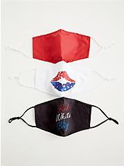 Americana Non-Medical Reusable Face Masks - Set of 3, , alternate