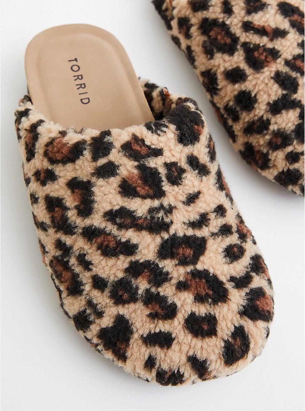Shearling Slip On - Leopard (WW), LEOPARD, hi-res