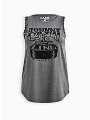 Classic Fit Slash Tank - Johnny Cash Grey, MEDIUM HEATHER GREY, hi-res