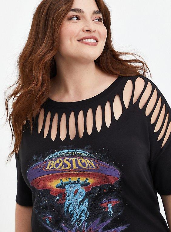 Boston Black Slash Tee, DEEP BLACK, hi-res