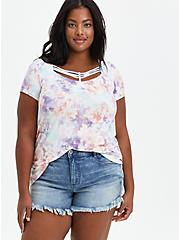 Strappy Swing Tee - Super Soft Tie Dye , OTHER PRINTS, alternate