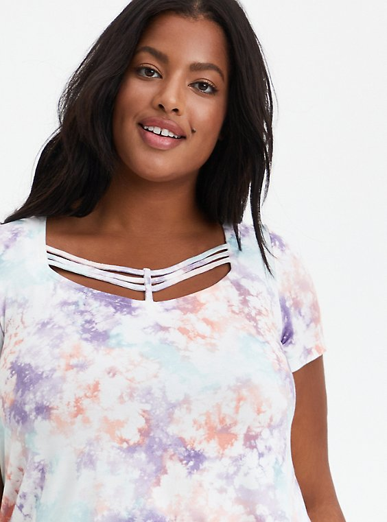 Strappy Swing Tee - Super Soft Tie Dye , OTHER PRINTS, hi-res