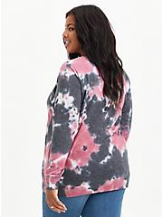 Raglan Sweatshirt - Tie-Dye Black, OTHER PRINTS, alternate