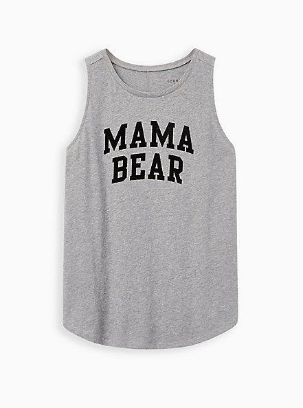Classic Fit Tank - Mama Bear Grey, MEDIUM HEATHER GREY, hi-res