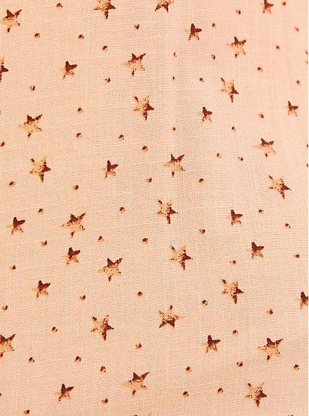 Ava - Peach Star Textured Stretch Rayon Cami, , alternate