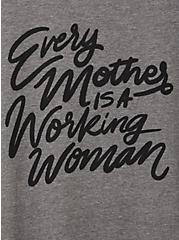 Everyday Tee - Signature Jersey Grey Every Mother , MEDIUM HEATHER GREY, alternate