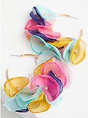 Multi Color Petal Hoop, , hi-res