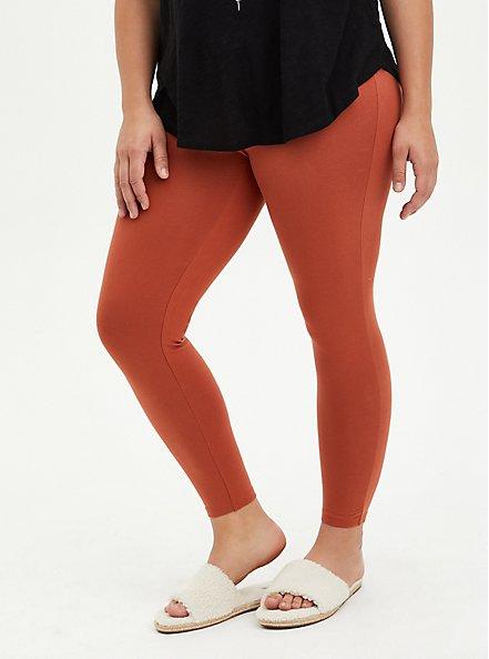 Premium Legging - Auburn, BROWN, hi-res