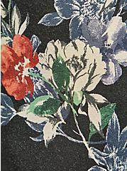 Culotte Jumpsuit - Super Soft Floral Black, FLORAL - BLACK, alternate