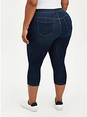 Crop Lean Jean - Super Soft Dark Wash, BASIN, alternate