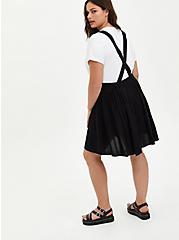 Mini Skirtall - Challis Black, DEEP BLACK, alternate