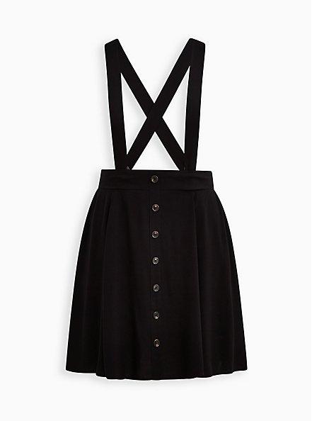 Mini Skirtall - Challis Black, DEEP BLACK, hi-res