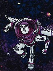 Disney Pixar Toy Story Buzz Galaxy High-Rise Crop Legging, MULTI, alternate