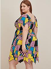 Disney The Nightmare Before Christmas Sally Patches Jagged Skater Dress, MULTI, alternate