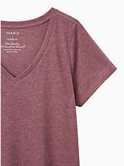 Girlfriend Tee - Signature Jersey Violet, PURPLE, alternate