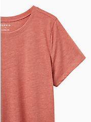 Plus Size Everyday Tee - Signature Jersey Red, BROWN, alternate