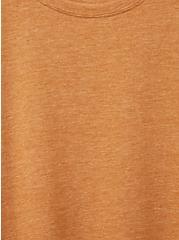 Everyday Tee - Signature Jersey Light Brown, BROWN, alternate