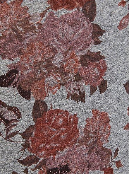 Pocket Tee - Heritage Slub Grey Floral, OTHER PRINTS, alternate