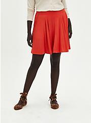 Skater Skirt - Super Soft Orange, RUST, alternate