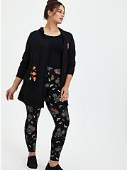 Plus Size Disney Mickey & Minnie Mouse Web Legging, DEEP BLACK, hi-res