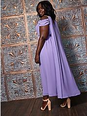 Goddess Queen Caped Costume, PURPLE, alternate