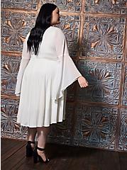 Angel Hi-Low Bell Sleeve Costume, CLOUD DANCER, alternate