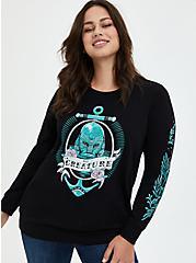 Universal Monsters Creature Pullover Sweatshirt - Black, DEEP BLACK, hi-res