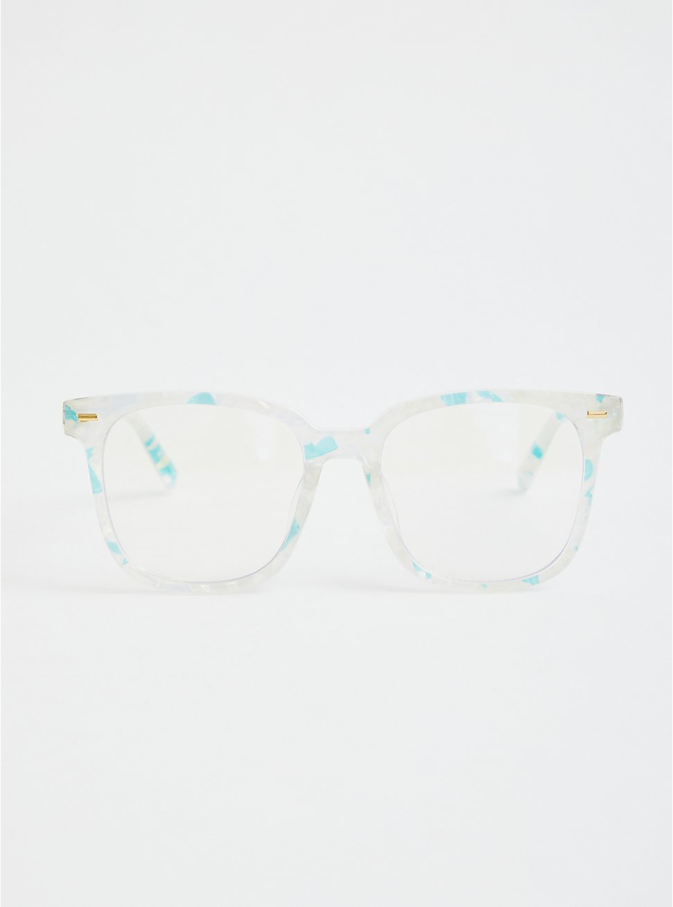 Square Bluelight Glasses - Pearlescent, , hi-res