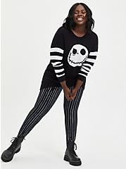 Disney The Night Before Christmas Pixie Pant - Jack Stripe Black, BLACK-WHITE STRIPE, alternate