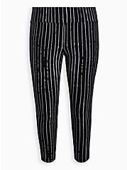 Disney The Night Before Christmas Pixie Pant - Jack Stripe Black, BLACK-WHITE STRIPE, hi-res