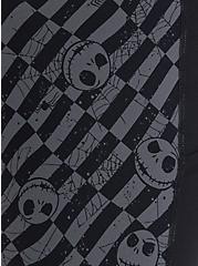 Disney The Nightmare Before Christmas High Rise Crop Legging - Jack Skellington Checkered, BLACK  GREY, alternate