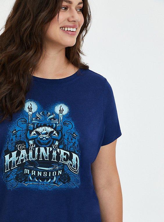 Disney Haunted Mansion Distressed Tee - Blue, MEDIEVAL BLUE, hi-res