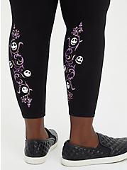 Crop Legging - Disney The Nightmare Before Christmas Filigree, DEEP BLACK, alternate