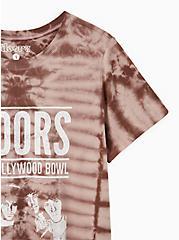 Classic Fit Crew Tee - The Doors Lavender Tie Dye, LAVENDER, alternate