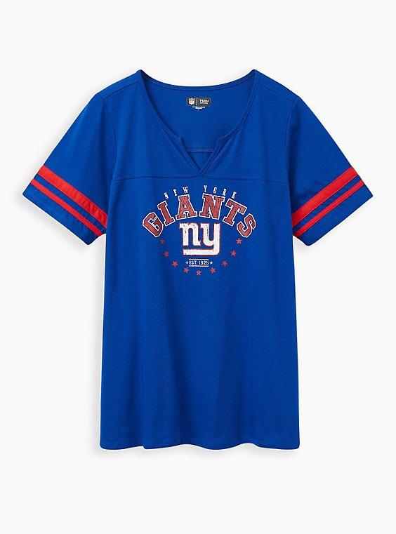 Classic Fit Football Tee - NFL New York Giants Blue, PEACOAT, hi-res