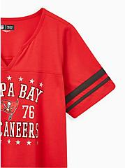 Classic Fit Football Tee - NFL Tampa Bay Buccaneers Red, JESTER RED, alternate