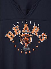 Classic Fit Football Tee - NFL Chicago Bears Navy, PEACOAT, alternate