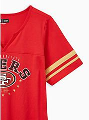 Classic Fit Football Tee - NFL San Francisco 49ers Red , JESTER RED, alternate