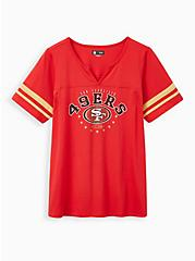 Classic Fit Football Tee - NFL San Francisco 49ers Red , JESTER RED, hi-res