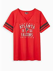 Classic Fit Football Tee - NFL Atlanta Falcons Red, JESTER RED, hi-res
