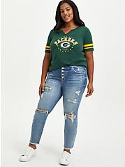 Classic Fit Football Tee - Green Bay Packers Green, GREEN, alternate