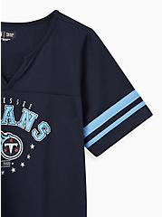 Classic Fit Football Tee - Tennessee Titans Navy, PEACOAT, alternate