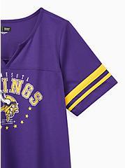 Classic Fit Football Tee - NFL Minnesota Vikings Purple, PURPLE, alternate