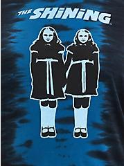 Classic Fit Crew Tee - The Shining Twins Tie Dye Blue & Black , TIE DYE-BLUE, alternate
