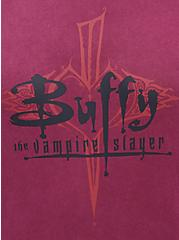 Classic Fit Crew Tee - Buffy Red Wash, RED, alternate