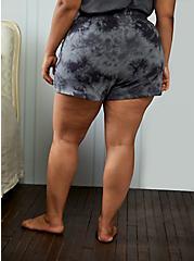 Active Short - Terry Tie-Dye Grey & Black, TIE DYE-BLACK, alternate