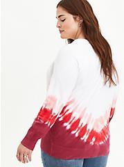Raglan Sweater- Heritage Slub Tie Dye , TIE DYE, alternate